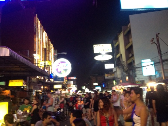 The bustling district of Khao San.