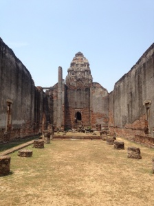The old temples looked like places from adventure video games.