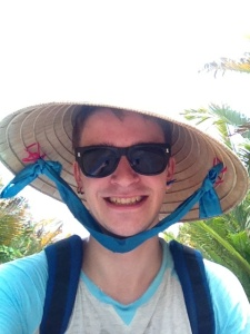 River Tour on the Mekong Delta - you get used to taking tourist selfies when travelling on your own