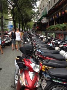 So. Many. Motorbikes.