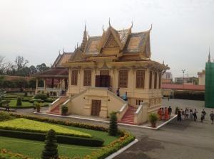 The silver pagoda.