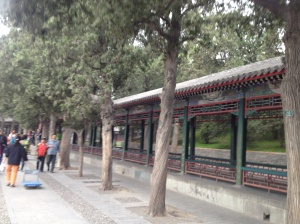 Inside the ground of the Summer Palace - an area about 4 times the size of the Forbidden City.