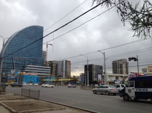 "The ""ugly cityscape"" of Ulaanabaatar."