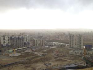 View of Ulaanbaatar from Zaisan Monument.