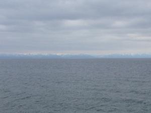 Overcast morning at Lake Baikal.