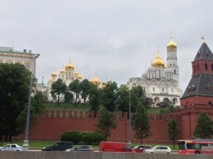 The Kremlin from afar.