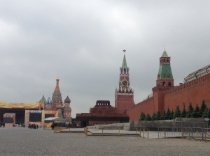 City centre of Moscow.