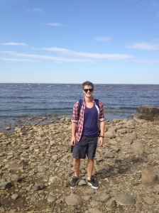 Standing next to the Baltic Sea - of the Gulf of Finland, depending on who you ask, apparently.