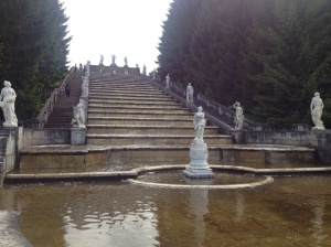 Another of the fountains in the grounds.
