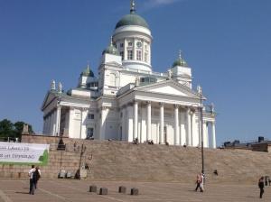 The iconic Tuomiokirkko.