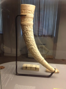 Viking drinking horn that excited the GOT nerd in me.