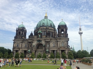 Berliner Dom, the cathedral on Museums Island.
