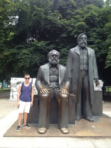 The Karl Marx statue.