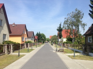 The cute little suburban German streets I wandered through while getting lost on my way to the museum.