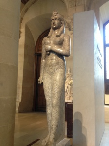 Statue of the Egyptian goddess Isis.