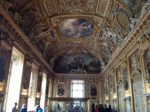You could walk around the Louvre just staring at the roof and still never get bored.