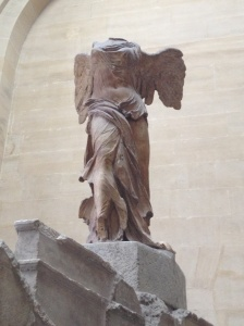 """The Winged Victory of Samothrace""."