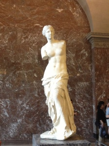 "Aphrodite, also known as ""Venus de Milo""."