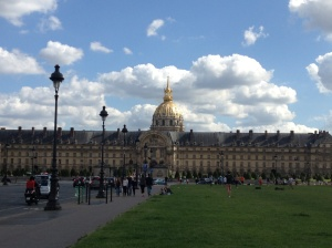 Hôtel National des Invalides - passed on my way to Jason and Therese's.