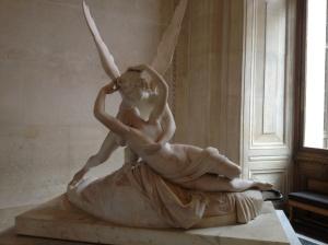 """Psyche and Cupid"", A. Canova, depicting Greek gods."