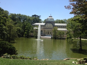 The beautiful Palacio de Cristal.