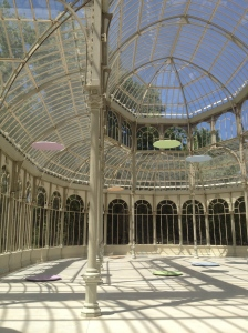 Inside the Crystal Palace.