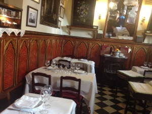 Inside the oldest restaurant in the world.
