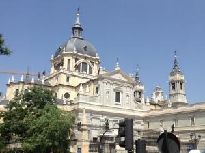 Catedral de Nuestra Senora de la Almudena.