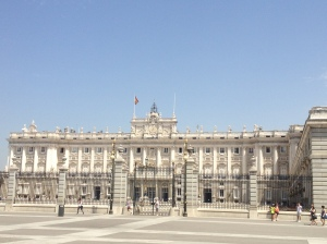 Palacio Real, the Royal Palace.