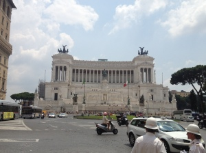 The National Monument for Victor Emmanuel II.
