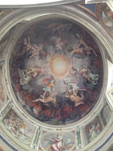 Another ceiling painting in the Vatican.