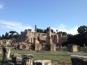 More ruins in the Forum.