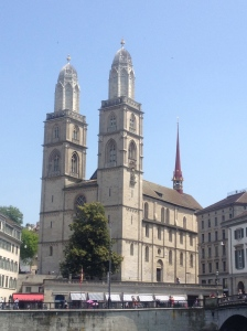 The grand Grossmünster.