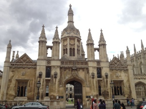The front view of Kings College.