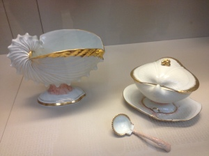 Sea shell tea set.