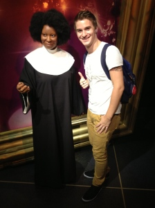 A very Sister Act Whoopi Goldberg.