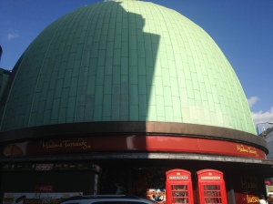 Madame Tussaud's from the outside.
