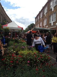 Columbia Road Flower Markets.