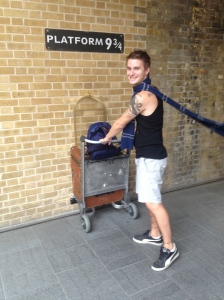 Look out Hogwarts, here I come!