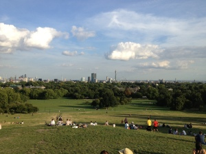 View of the city from Primrose Hill.