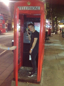 But first, I still had to get my photo in one of London's iconic red telephone booths.