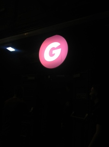 G for 'George'.