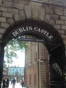 Entrance to Dublin Castle.