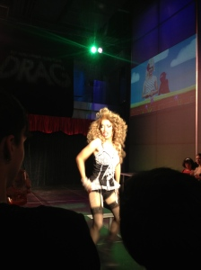 New York drag queens giving it all they've got.