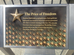 The Price of Freedom.