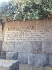 """""""I hate war."""""""