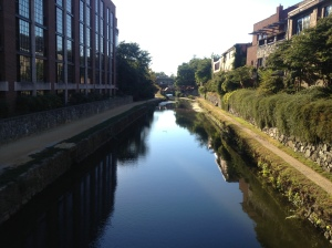 The canals in DC.