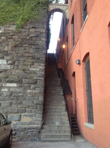 The Exorcist staircase.