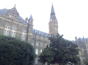 Buildings at Georgetown University.