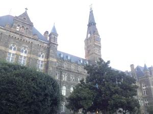 Buildings at Georgetown University.